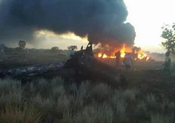 Five crew dead after Aerosucre cargo plane crashes in Colombia
