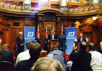 New prime minister takes office in New Zealand