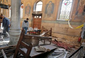 Blast hits near Christian cathedral in Cairo