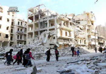 Assad's forces retake half of rebel-held Aleppo