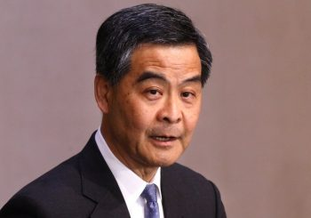 Hong Kong leader C.Y. Leung will not seek re-election