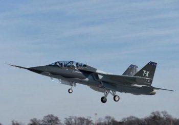 New T-X jet trainer flight tested