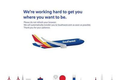 Southwest Airlines website interrupted by glitch; nearly 900 flights delayed