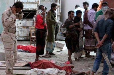 Scores killed in suicide attack in Yemen's Aden