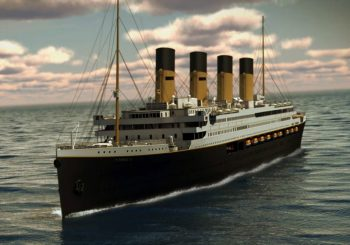 Life-size replica 'Titanic' being built in China