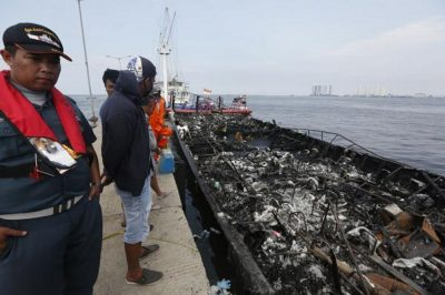At least 23 dead in Indonesia ferry fire