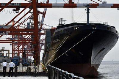 Japan coast guard rescues flooded North Korea cargo ship