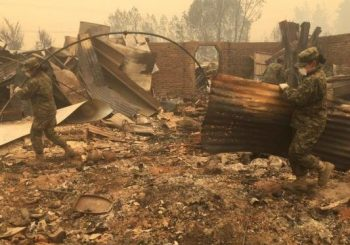 At least 11 dead in massive Chile wildfires