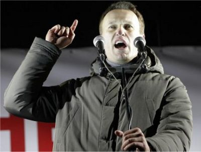 Russian activist Navalny guilty of embezzlement in retrial