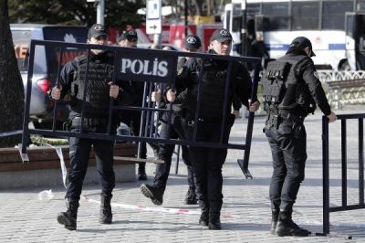 More than 400 Islamic State suspects arrested in Turkey by counter-terrorism squads
