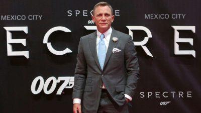 Daniel Craig now second longest-serving 007