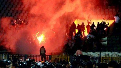 Egypt court upholds death sentences over football riot