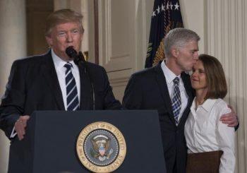 Trump nominates federal judge Gorsuch to fill Supreme Court vacancy