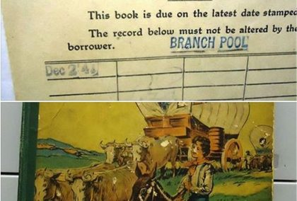 Pennsylvania library waives $554 fee after book returned 75 years late