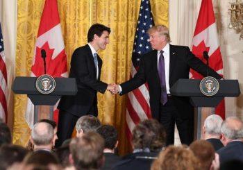 Donald Trump, Justin Trudeau talk immigration, trade at White House