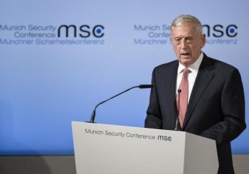 Mattis to Iraqis: U.S. not in Iraq 'to seize anybody's oil'
