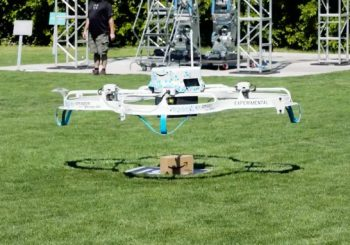 Amazon Prime Air drone completes its first US public delivery