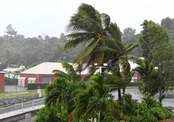Cyclone Debbie makes landfall with destructive winds