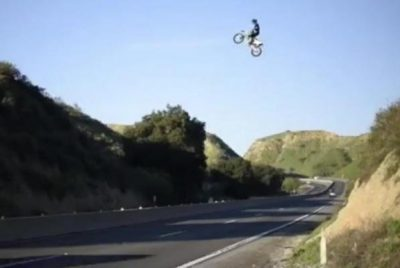 California moves to block copycats after highway-jumping motorcycle stunt goes viral