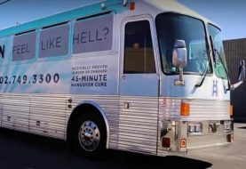 Las Vegas bus serves as mobile hangover cure clinic
