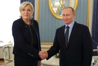 Putin hosts French presidential contender Le Pen in Kremlin