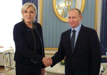 Putin hosts French presidential contender Le Pen in Kremlin