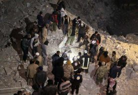 U.S. denies bombing Syrian mosque where dozens died
