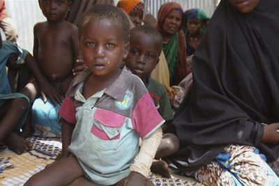 Famine 'largest humanitarian crisis in history of UN'
