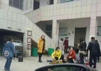 Two children die, 20 injured in crush at China elementary school