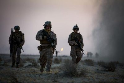 U.S. Marines deployed to shoot artillery at Islamic State in Raqqa