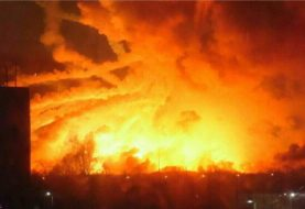Saboteurs Blow Up Ukraine Tank Ammo, Start Massive Fire