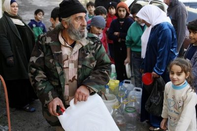 UN: Syria jets deliberately hit Damascus water supply