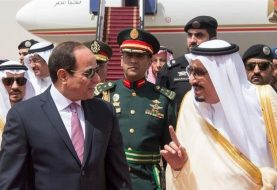 Egypt's Sisi visits Saudi after months of tension
