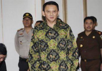 'Light' sentence sought for Ahok over alleged blasphemy