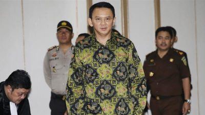 'Light' sentence sought for Ahok over alleged blasphemy
