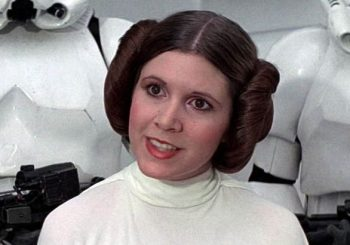 Late actress Carrie Fisher receives tribute at 'Star Wars Celebration'