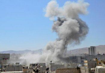 Explosion hits near Damascus International Airport