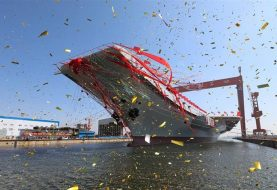 China launches first domestically made aircraft carrier