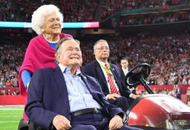 Former President George H.W. Bush hospitalized again in Houston