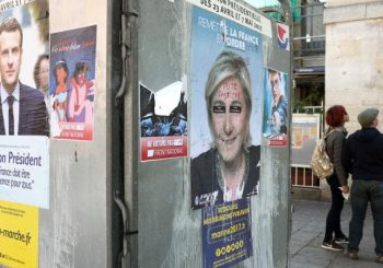 French voters send Macron, Le Pen to second round of presidential election