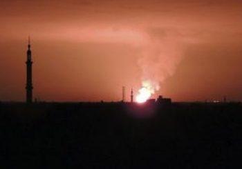 Israeli strikes hit arms depot in Damascus