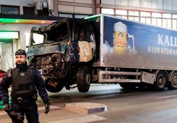 Man arrested in Stockholm truck attack