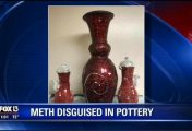 Florida man had $600,000 worth of meth-covered pottery