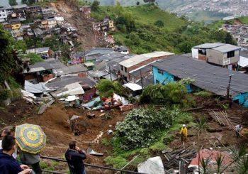 At least 14 killed in Manizales landslide