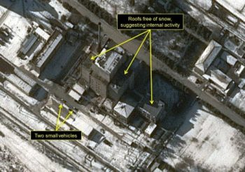 North Korea activity at nuclear site in progress, report says