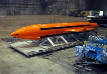 U.S. drops 'mother of all bombs' on rural Afghan IS compound