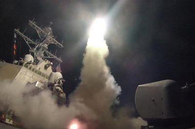 Syrian envoy slams US airfield attack 'message sending'