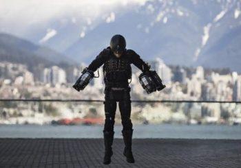 Real-life Iron Man takes flight at Ted