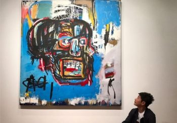 Basquiat painting breaks records at $110.5m in New York