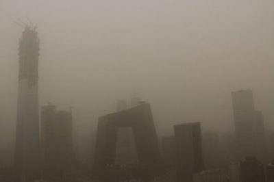 Dust storm chokes Beijing and northern China